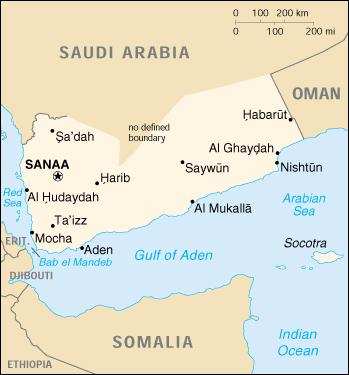 Cartina Yemen.Yemen Country Analysis Brief